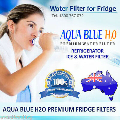 AQUA BLUE H2O WHIRLPOOL/BOSCH/MAYTAG/GE and ETC FRIDGES FILTER REPLACEMENT