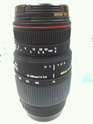 SIGMA  EF 70-300mm F4-5.6 IS USM (for canon/ used, 95% to the new),free shipping
