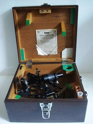 SESTREL - HENRY BROWNE & Sons.  Marine Sextant - No. 5274 - LIMITED EDITION