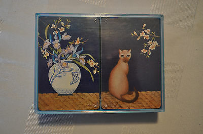 Vintage HALLMARK  'Siamese Dreams' Playing Cards - Two Complete Decks
