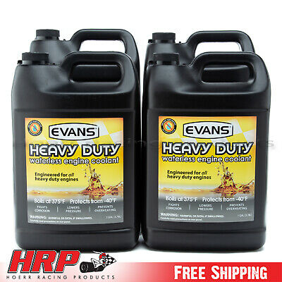 Evans Waterless Coolant-Heavy Duty Diesel (4 Gallons & Funnel)-EC61001
