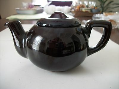 Vintage Brown  Teapot by Royal Canadian Art Pottery Hamilton