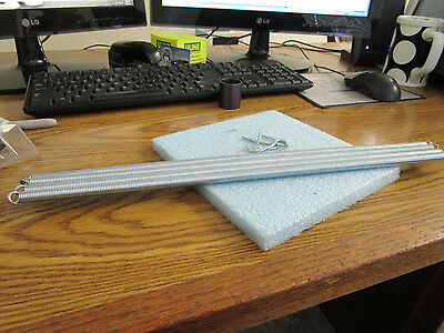 Lot of Gardner GSD-4 Screen Door Springes.  Qty. 5.  4 Anchors.  New Old Stock<