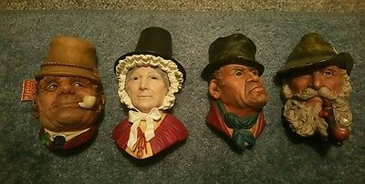 Set of Four Bosson Heads