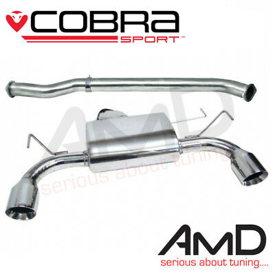 """Cobra Sport Nissan 350z 3"""" Exhaust System Stainless Steel Non Res Centre & Rear"""