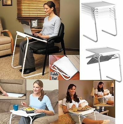 Multi Purpose Adjustable Table Bed Table Over Chair Table Disability Aids