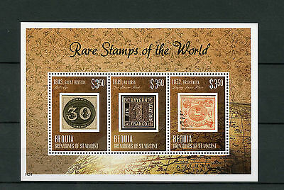 Bequia Grenadines St Vincent 2014 MNH Rare Stamps World 3v M/S Bavaria Kreuzer