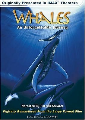 IMAX - Whales: An Unforgettable Journey (DVD, 1998)