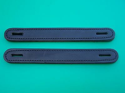 2 Leather Trunk Handles, Antique Style Sold In Pairs, Steamer Camel Back Trunks