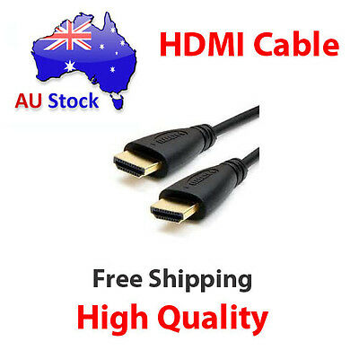 1-10M HDMI Cable v2.0 3D High Speed with Ethernet HEC Full HD 1080p Gold Plated