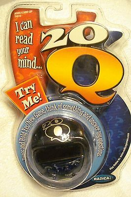 20 Q  BY RADICA I CAN READ YOUR MIND NEW SEALED FREE SHIPPING TAKL@@K