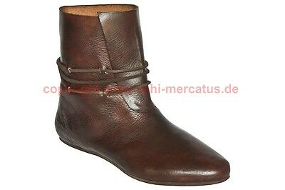 Mittelalter Stiefel Schuhe 13. Jhd. Maß Schuh medieval custom shoes reenactment
