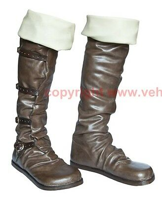 Mittelalter Schuhe Stiefel Larp Boots Shoes Medieval Kuhmaulschuhe 15. Jh 16. Jh