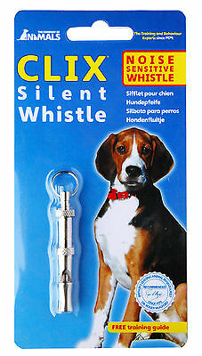 Clix Silent Dog Puppy Whistle, Good All-Round Whistle, Helps with Dog Training