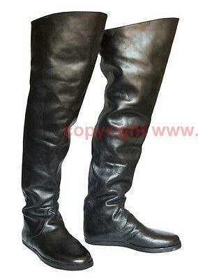 Schuhe Stiefel Mittelalter Larp Boots Shoes Medieval Kuhmaulschuhe 16. Jh