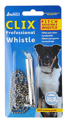Clix Professional Dog Puppy Whistle, Good All-Round Whistle Dog Training