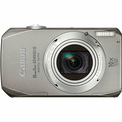 Canon PowerShot SD4500IS 10 MP Digital Camera with 10x Optical Image Silver