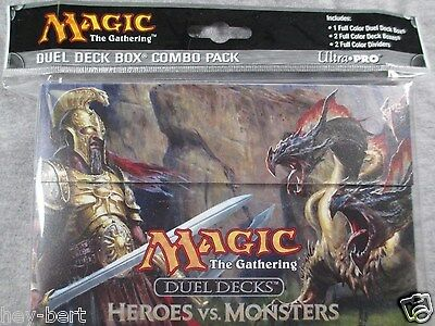 Heroes vs. Monsters Duel Deck Box Combo Pack - Sealed - Ultra Pro Magic ccg MTG