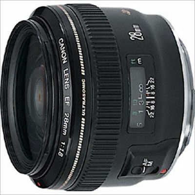 Canon Single Focus Wide Lens EF28mm F1.8 USM from Japan New