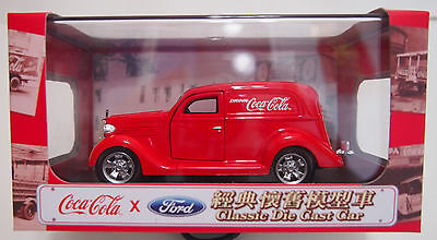 HONG KONG COCA COLA - FORD CLASSIC DIE CAST CAR - STREET ROD ~ LIMITED EDITION