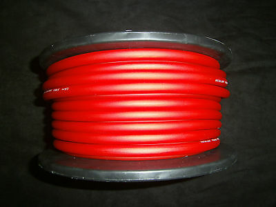 6 GAUGE AWG WIRE RED 10 FT CABLE POWER GROUND STRANDED PRIMARY FAST SHIPPING CAR