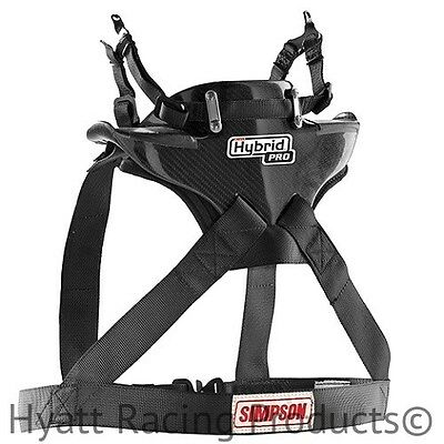Simpson Hybrid Pro Head & Neck Restraint - Nascar Approved / All Sizes