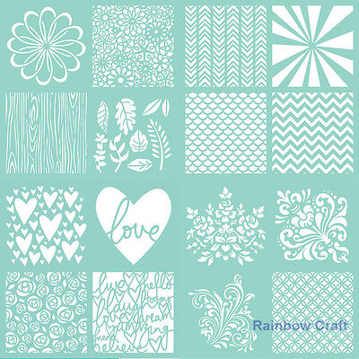 Brand New Kaisercraft Templates Stencils | Christmas Templates collection