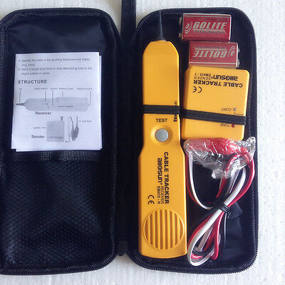 Telephone Network Phone Cable Wire Tracker Phone Generator Tester Diagnose Tone