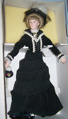 Effanbee Lady Nicole- made of fine bisque porcelain