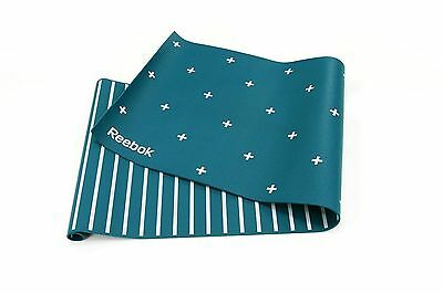 Fitness Mat Reversible Stripes Green Reebok