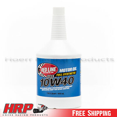 Red Line 11404 10W40 Motor Oil - 1 Quart