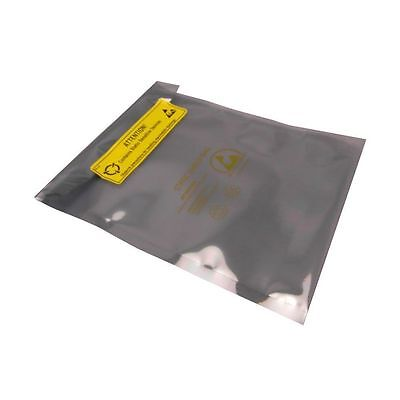 100 x SHL Antistatic Metallic Shielding ESD bag 4 x 6 inch with 100 labels