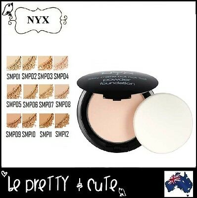 NYX STAY MATTE BUT NOT FLAT POWDER FOUNDATION IVORY NUDE NATURAL BEIGE-12 Shades