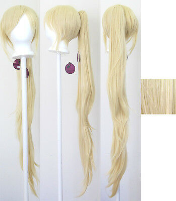40/'/' Wavy Pony Tail Base Hazelnut Brown Cosplay Wig NEW