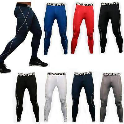 New Mens Compression Mesh Base Layer Shorts Pants Tight UnderSkin Sports Gear