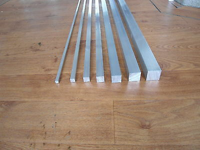Aluminium Square Bar Alloy ,Spacers ,Bush  6082t6 quality 300mm long