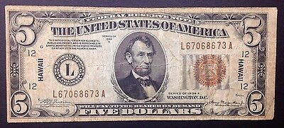 Hawaii Federal Reserve Note 1934A $5