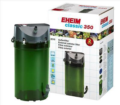 Eheim Classic 350   (2215)  Plus External Power  Filter + Media