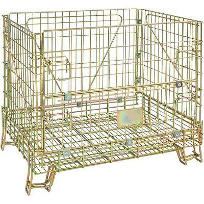 T23116 Grizzly Folding Steel Wire Container