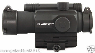 Vector Optics Premium AA Battery Tactical Red Dot Sight Multi 4 Reticle