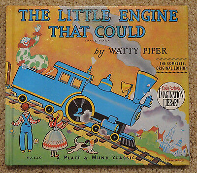 The Little Engine That Could Watty Piper Complete Original Edition Hardcover
