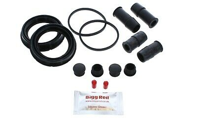 BMW 6 Series E63 /& E64 Rear Brake Caliper Seal Repair Kit axle set 4611