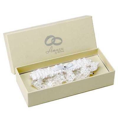 Wedding Garter In Gift Box By Amore WG358