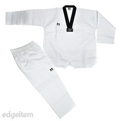 Moospo Taekwondo Uniform with Kukkiwon Patch