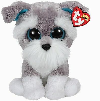 Ty Beanie Babies 37037 Boos Whiskers the Schnauzer Boo Buddy