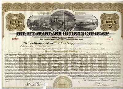 Delaware and Hudson Company  1915   1000$
