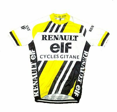 Renault Gitane Retro Vintage Cycling Team Bike Cycle Short Sleeve Summer Jersey