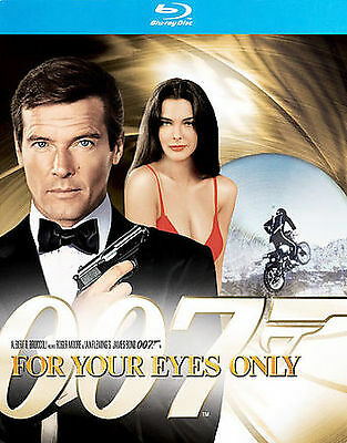 For Your Eyes Only New Blu-Ray Roger Moore, Carol Bouquet
