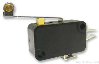 MICROSWITCH, SPDT, 10A, LONG ROLLER, Part # M141T02-AC0305D