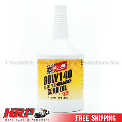 RedLine- 80W140 GL-5 Gear Oil -1 Quart - PN: 58104